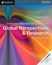Cambridge International AS and A Level Global Perspectives and Research