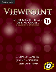 Viewpoint Level 1 Student's Book with Online Course B (Includes Online Workbook)