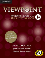 Viewpoint Level 1 Student's Book with Updated Online Workbook A