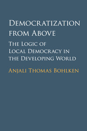 Democratization from Above
