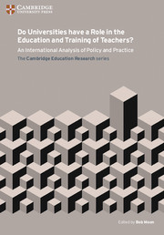 Do Universities have a Role in the Education and Training of Teachers?