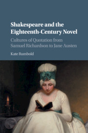 Shakespeare and the Eighteenth-Century Novel