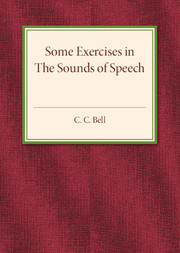Some Exercises in the Sounds of Speech