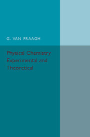 Physical Chemistry: Experimental and Theoretical