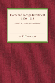 Home and Foreign Investment, 1870–1913