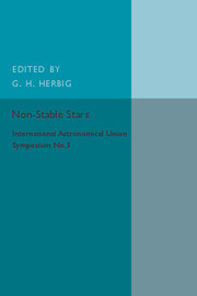 Non-Stable Stars