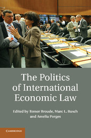 The Politics of International Economic Law