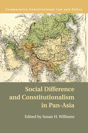 Social Difference and Constitutionalism in Pan-Asia