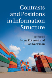 Contrasts and Positions in Information Structure