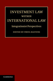 Investment Law within International Law