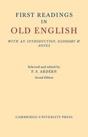 First Readings in Old English