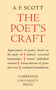The Poet's Craft