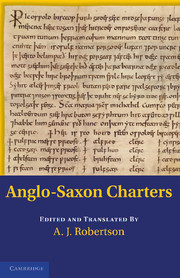 Anglo-Saxon Charters in the Vernacular