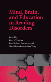 Mind, Brain and Education in Reading Disorders