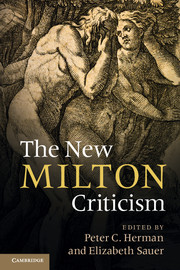 The New Milton Criticism