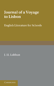 Fielding: 'Journal of a Voyage to Lisbon'