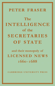 The Intelligence of the Secretaries of State
