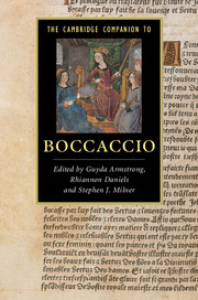 The Cambridge Companion to Boccaccio