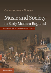 Music and Society in Early Modern England