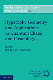 Hyperbolic Geometry and Applications in Quantum Chaos and Cosmology