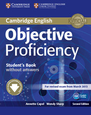 Objective Proficiency 2nd Edition