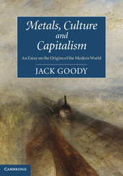 Metals, Culture and Capitalism