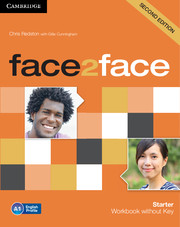 face2face Starter Workbook without Key