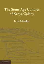 The Stone Age Cultures of Kenya Colony