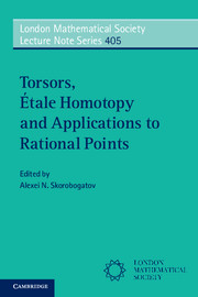 Torsors, Étale Homotopy and Applications to Rational Points