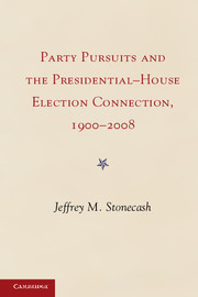 Party Pursuits and The Presidential-House Election Connection, 1900–2008