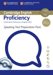 Speaking Test Preparation Pack for Cambridge English Proficiency for updated exam