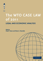 The WTO Case Law of 2011