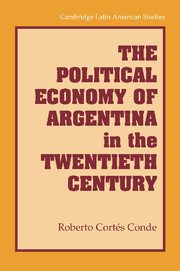 The Political Economy of Argentina in the Twentieth Century