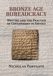 Bronze Age Bureaucracy