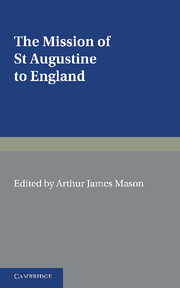 The Mission of St Augustine to England