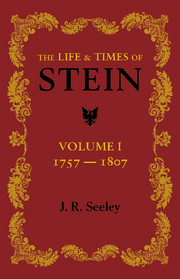 The Life and Times of Stein