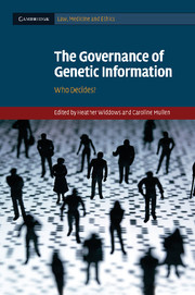 The Governance of Genetic Information