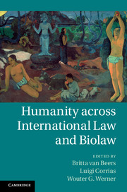 Humanity across International Law and Biolaw