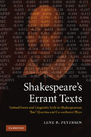 Shakespeare's Errant Texts