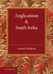 Anglicanism and South India