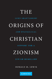 The Origins of Christian Zionism