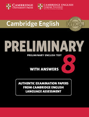 Cambridge English Preliminary 8