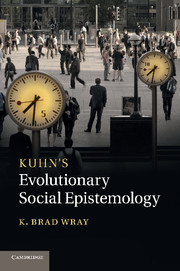 Kuhn's Evolutionary Social Epistemology