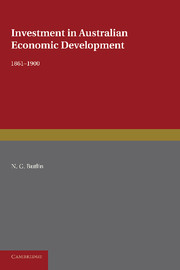 Investment in Australian Economic Development, 1861–1900