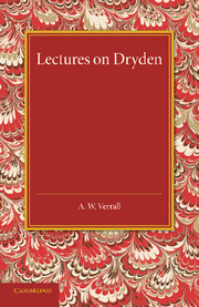 Lectures on Dryden