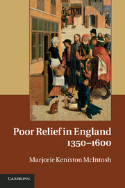 Poor Relief in England, 1350–1600