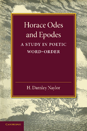 Horace Odes and Epodes