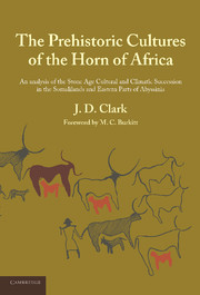 The Prehistoric Cultures of the Horn of Africa