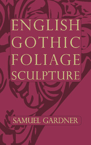 English Gothic Foliage Sculpture