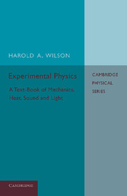 Experimental Physics